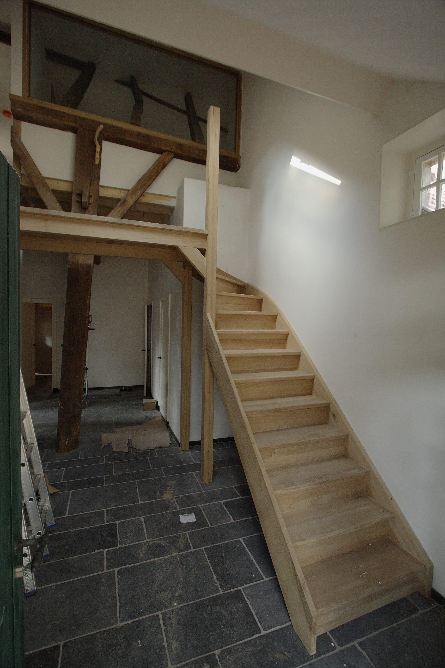 trap en houten balklaag kwaliteit