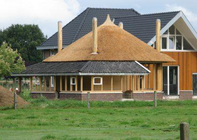 Aanbouw woonhuis